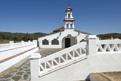 White chapel in honor of Virgin Eulalia, Andalusia Stock Image