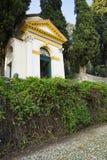 Chapel on villa Dudo complex, Monselice, Italy royalty free stock photos