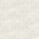 White checked carpet texture, top view Royalty Free Stock Photography