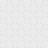 White checked and flower design Royalty Free Stock Photo
