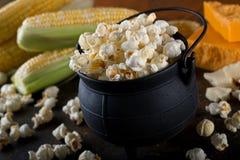 White Cheddar Kettle Corn Popcorn stock photography