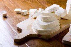 White cheese Royalty Free Stock Photo