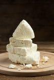 White cheese Stock Image