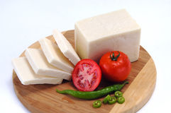 White cheese Royalty Free Stock Image
