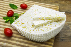 White cheese Stock Photography