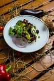 White cheese salad Stock Photos