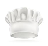White chef hat Royalty Free Stock Photography