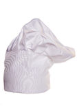 White chefs hat. Studio cutout Royalty Free Stock Photography