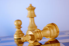 White chess pices Stock Photos