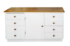 White Chest of Drawers Royalty Free Stock Photo