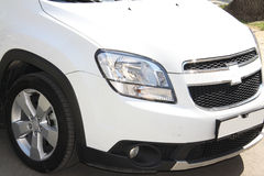 White chevrolet Royalty Free Stock Images