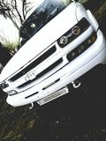 White Chevy truck royalty free stock image