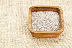 White chia seeds Stock Image