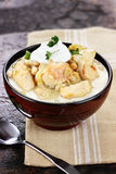 White Chicken Chili Royalty Free Stock Photo