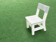 White child chair Royalty Free Stock Images