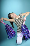 White child dancing Royalty Free Stock Photography