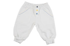 White child trousers Royalty Free Stock Image