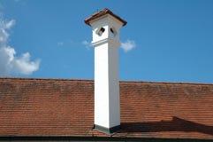 White chimney Stock Image