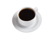 White china coffee cup Stock Photo