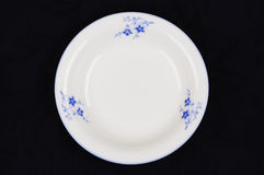 White china dish Royalty Free Stock Image