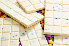 White chocolate Stock Image
