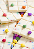 White chocolate Stock Photos