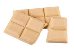 White chocolate Royalty Free Stock Photo