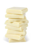 White chocolate Royalty Free Stock Photography