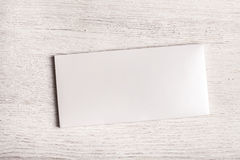 White chocolate bar package mockup Stock Photography