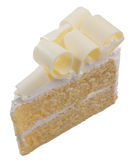 White chocolate cake Royalty Free Stock Image