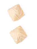 White Chocolate Candies Stock Photography