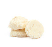 White chocolate candy isolated Royalty Free Stock Image