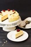 White Chocolate Cheesecake Stock Image