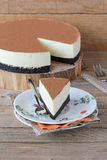 White chocolate cheesecake Royalty Free Stock Photo