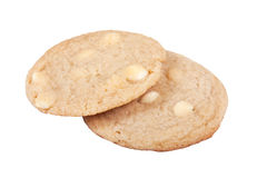 White Chocolate Chip Cookies Royalty Free Stock Photo