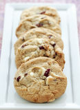 White Chocolate Chunk Cookies Stock Images