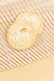 White Chocolate Cookie Royalty Free Stock Images