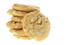 White Chocolate Cookies Royalty Free Stock Photo