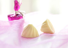 White chocolate Royalty Free Stock Photo