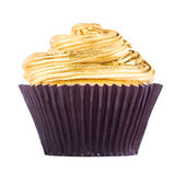 White Chocolate Cupcake Royalty Free Stock Images