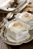 White Chocolate Mousse Royalty Free Stock Photography