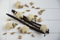 White chocolate pralines Royalty Free Stock Images