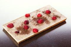 White chocolates Stock Image