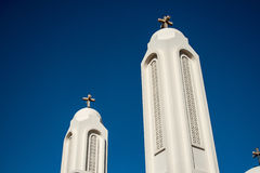White Christian Church Royalty Free Stock Image