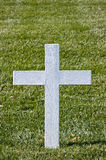White Christian Cross stock photography