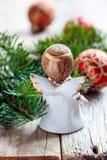 White Christmas angel. Stock Image