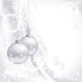 White Christmas background Royalty Free Stock Image