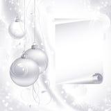 White Christmas background royalty free stock photography