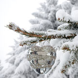 White Christmas background Stock Images