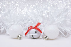 White Christmas background Royalty Free Stock Photo